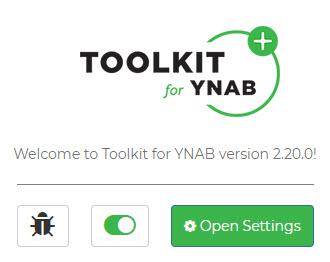 YNAB Tool Kit